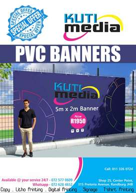 Pull Up Banners. Tshirt Printing, Posters.