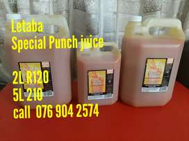 Special Punch juice for Sale (Letaba)