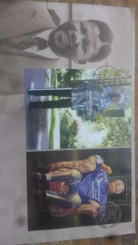 Mandela commemorative first day cover