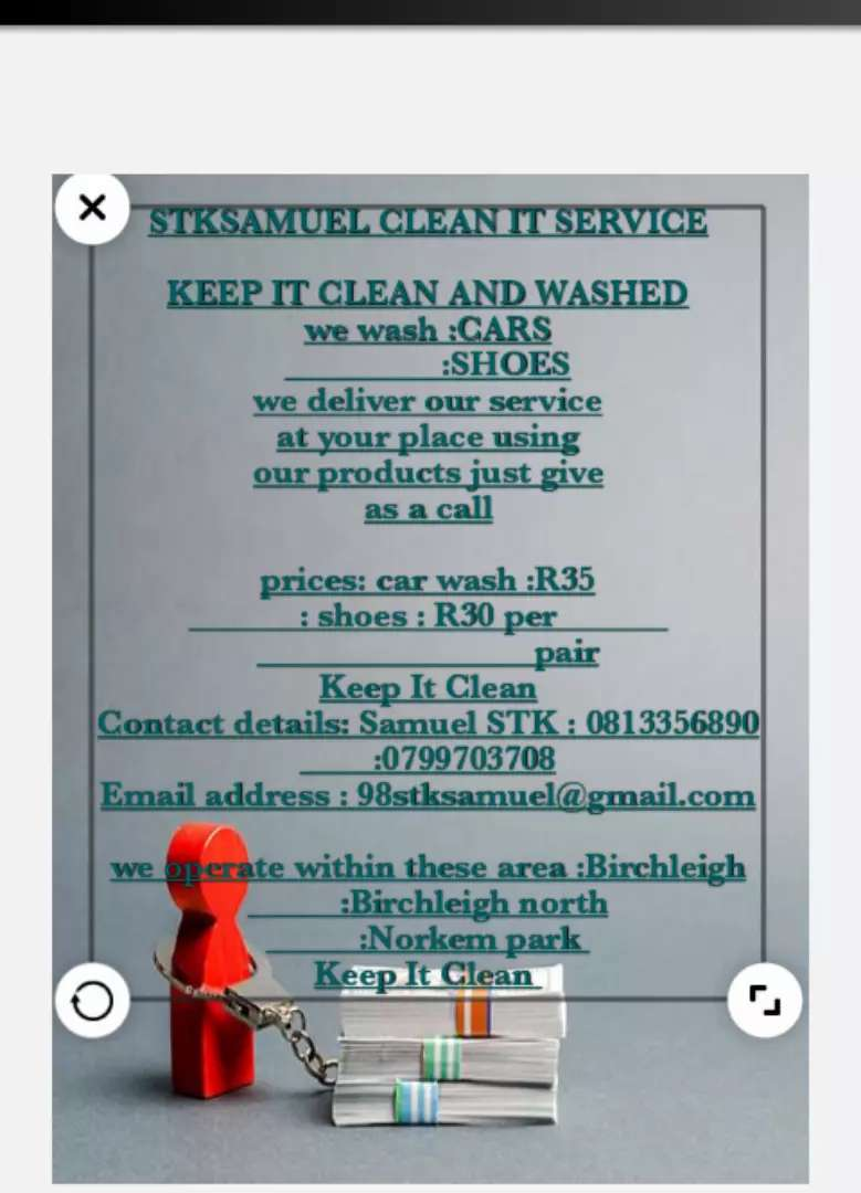 STKsamuel clean it service 0