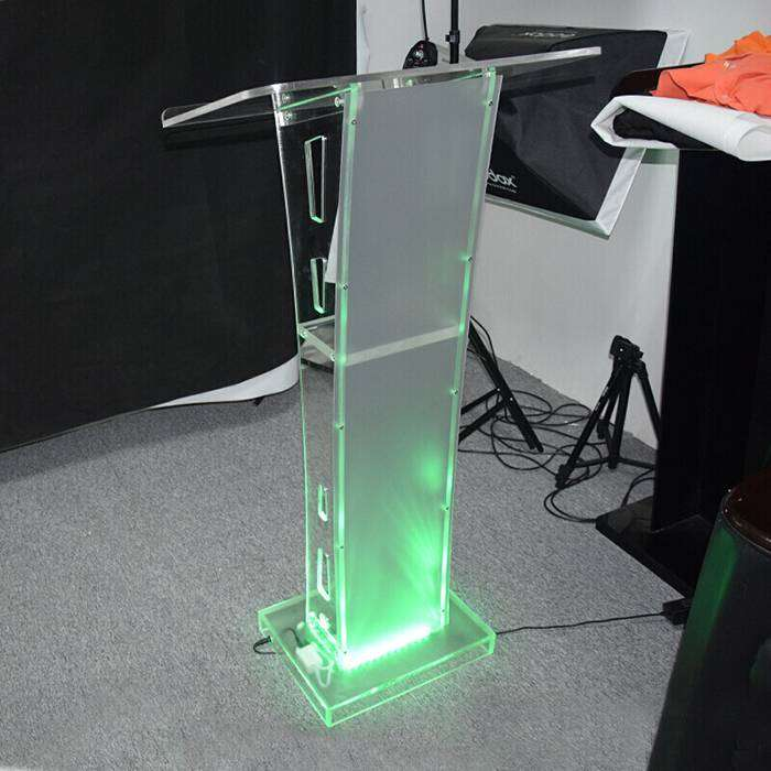 Transparent Industrial Pulpits with LED's 0