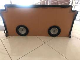 "8"" Subwoofers for double cab bakkie"