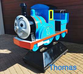 Coin and Button operated Kiddie Ride Business for sale