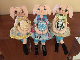 Пасхальный зайка (ручная работа), Игрушки handmade