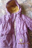 Новая цена! Зимняя куртка Lenne на девочку 4-5 лет