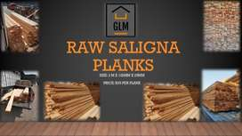 Saligna Wood Planks - Raw or Planed - Ideal for DIY and Decking