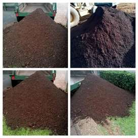Bulk combost and top soil R1100 for 2m3 delivered