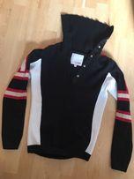 Sweter czarny ciepły Clara rozm M ciepła bluzka na zimę fajny butik