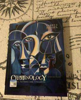 Criminology: Theories, Patterns and Typologies 13th edition