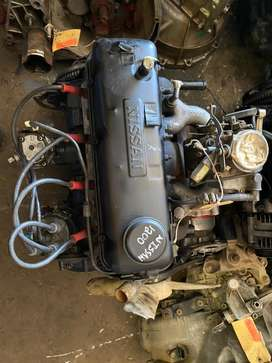 NISSAN 1200 ENGINE + 4 SPEED GEARBOX COMBO FOR SALE