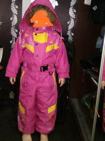 Продам куртку комбинезон для девочки Харьков - изображение 1