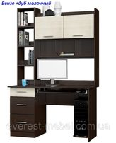 Компьютерный стол с надставкой Школьник-6