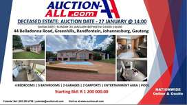 Going on Auction 44 Belladonna Road, Greenhills, Randfontein