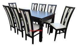 8 Pięknych Krzeseł i Stół Rozkładany W PROMOCJI, TANIO!!!