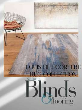 LOUIS DE POORTERE RUG COLLECTION 75% Cotton and 25% high gloss polyest