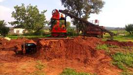 Rock crusher / Screening / Catching plant for sale