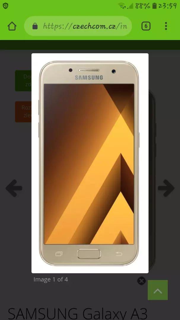 Samsung galaxy a3 2017 0