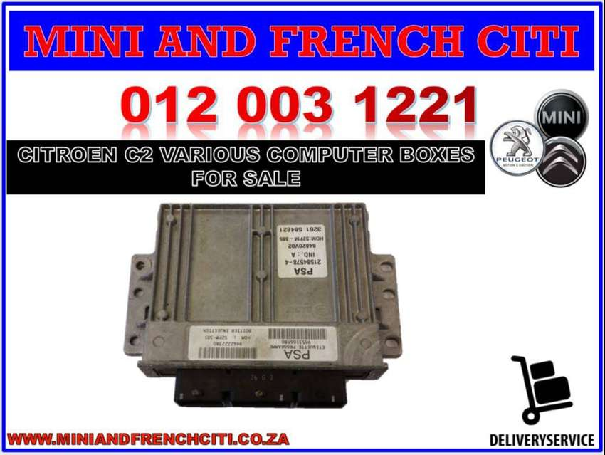 Citroen C2 and other various model used computer boxes for sale 0