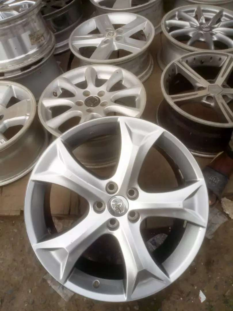 Alloyed rims for venze size 20 0