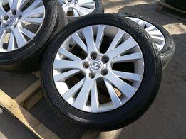 """Koła 17"""" felgi 5x114,3 opony 225/50/17 Oryginalne Mazda 5 6"""