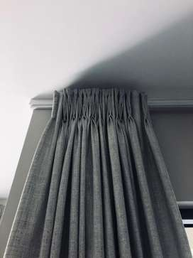 Extra Length Curtains. 4 sets. 2.7m in length. All 4 sets for 8500.