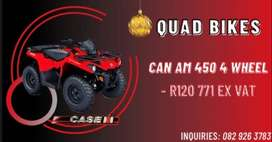 Quad Bikes ( Case CAN AM 450 4 Wheel)