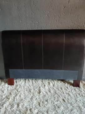 Genuine Leather double bed headboard