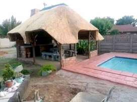 THATCH LAPAS NEW AND REPAIRS