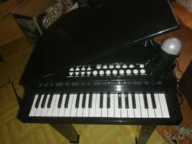 37 keyboard grand piano with concert stool