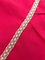 Opaska ślubna perełowa stroik pas do sukni ślubnej wieczorowej ozdobny