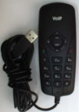 VoIP USB Phone for calls done via Internet.