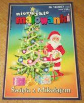 """(30) Kolorowanka """"Święta z Mikołajem"""""""""""