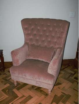 Block & Chisel Wingback Chairs