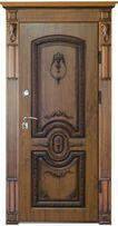 Двери входные металеві з МДФ накладками або з фанери