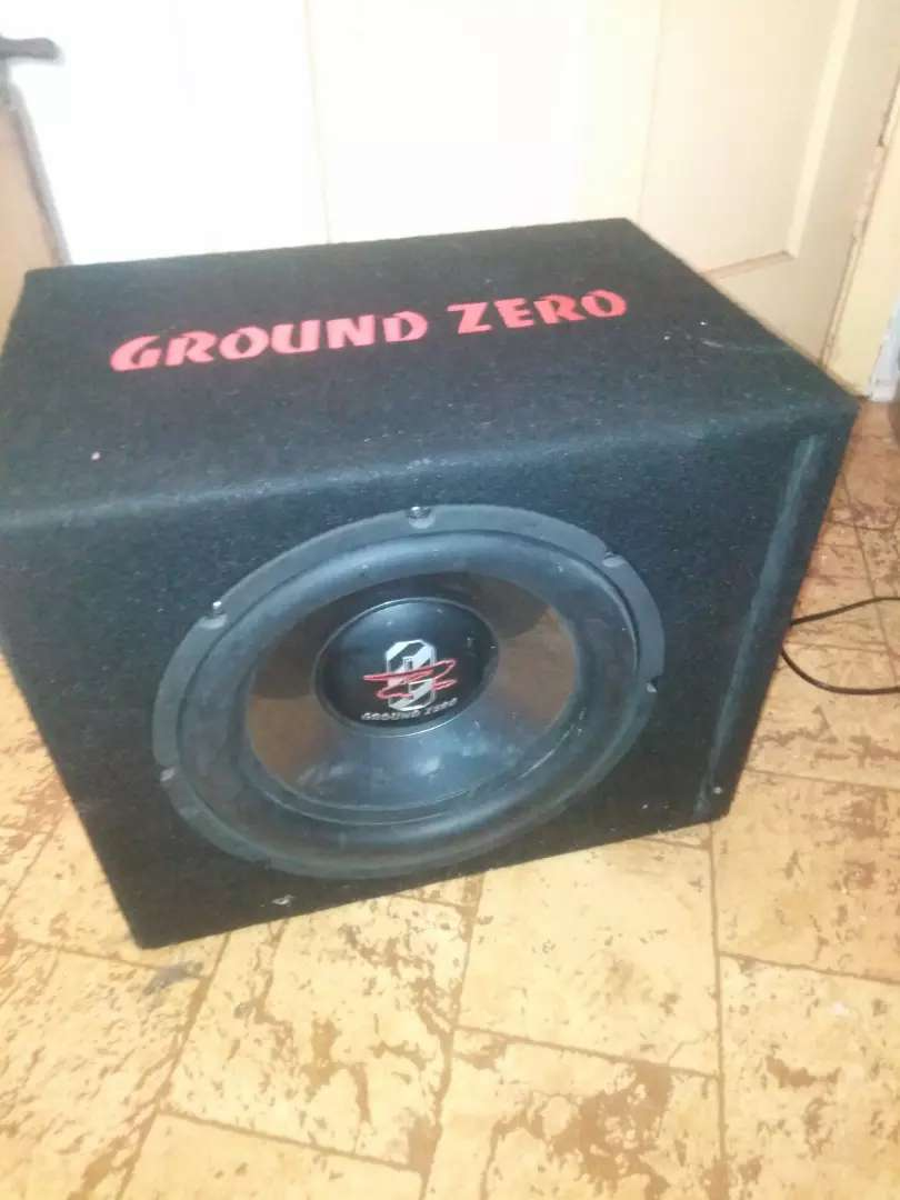 Ground zero in loaded enclosure