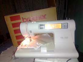 Selling my Brother Pe-100 embroidery machine for R4000 with box manual
