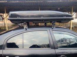 Аэробокс (багажник) автомобильный на крышу авто