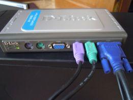 продам переключатеь DKVM- 4Компа один монитор