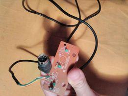 Провод кабель с платой запчасть от приставки