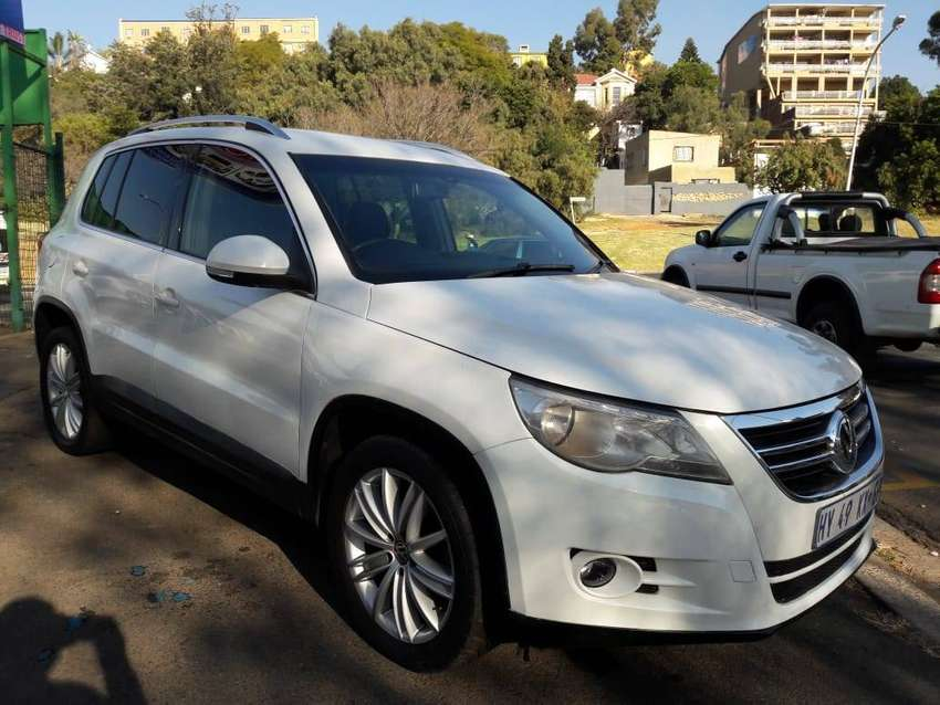2011 Model Vw Tiguan 2.0TDI 4 Mation Comfortline Automatic 0