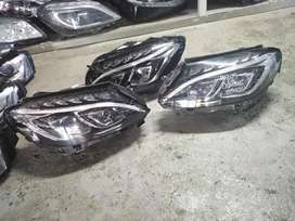 W 205double xenon headlights