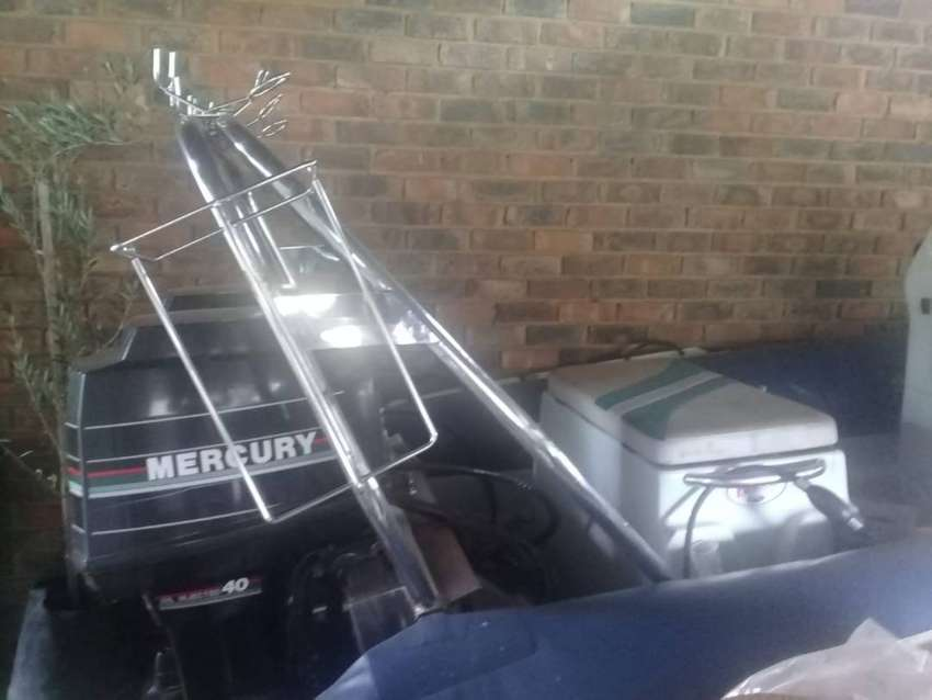 Rubber Duck with Galvanised Tip Trailer for Sale (No Motors) 0
