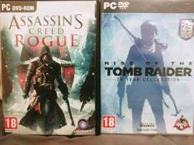 Rise of the Tomb Raider & Assassin's Creed Rogue - PC