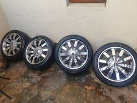 Golf 4 Mags and tyres for sale