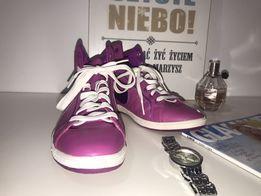 Nike fuksja skórzane rozmiar 39/40 pilne
