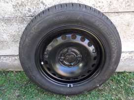 BRAND NEW 14 INCH STEEL RIM AND TYRE FOR SALE