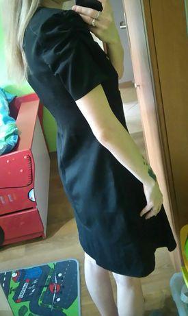 Sukienka rozm 38/M, czarna z guzikami, stan bardzo dobry Sosnowiec - image 4