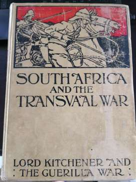 Africana books, South Africa and the Transvaal War