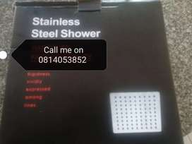 Brand new stainless steel shower head with arm on promotion