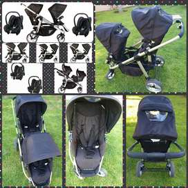 Double Trouble pram for sale